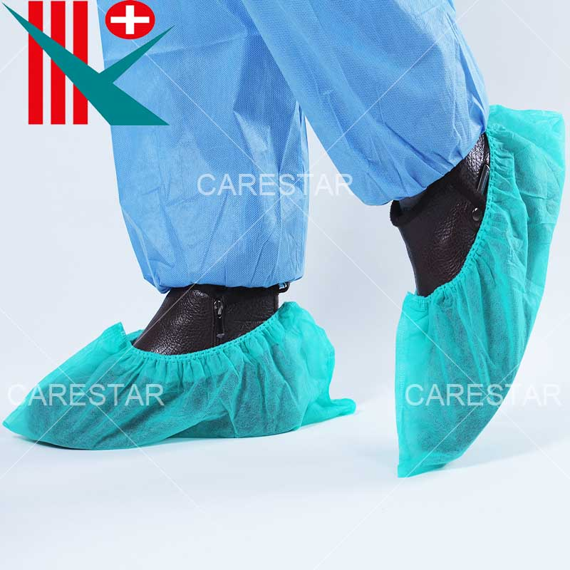 Disposable PP Shoe Cover, Made by Machine