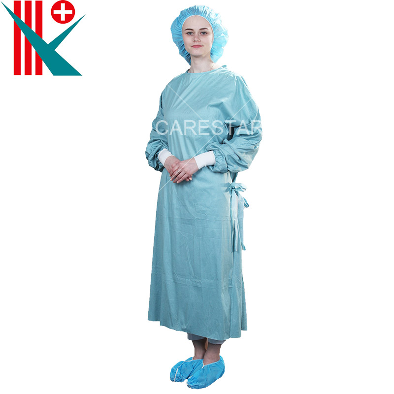 Disposable Spunlace Isolation Gown