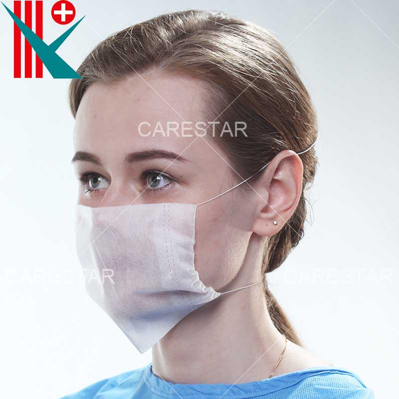 Disposable PP 2 Ply Mexico Face Mask with Head Loop