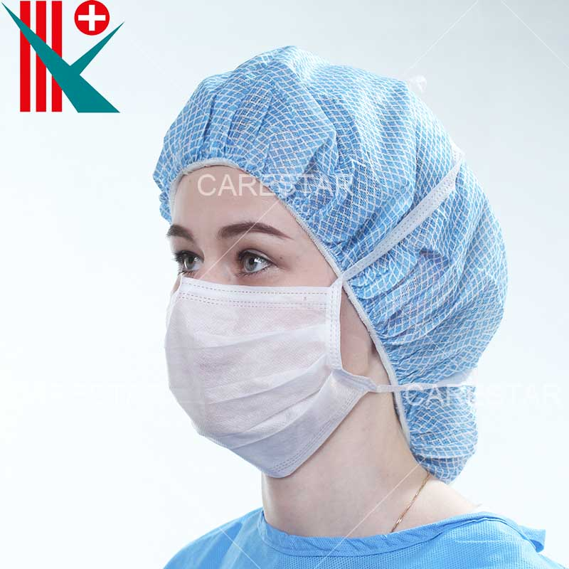 Disposable PP 2 Ply Face Mask Tie-on