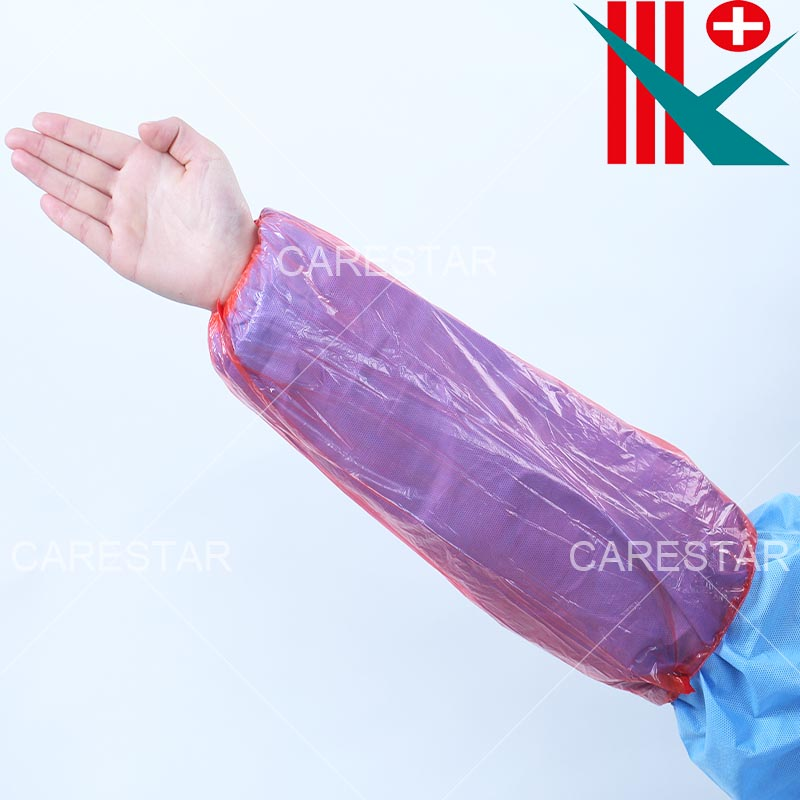 Disposable PE Sleeve Cover, Made by Machine