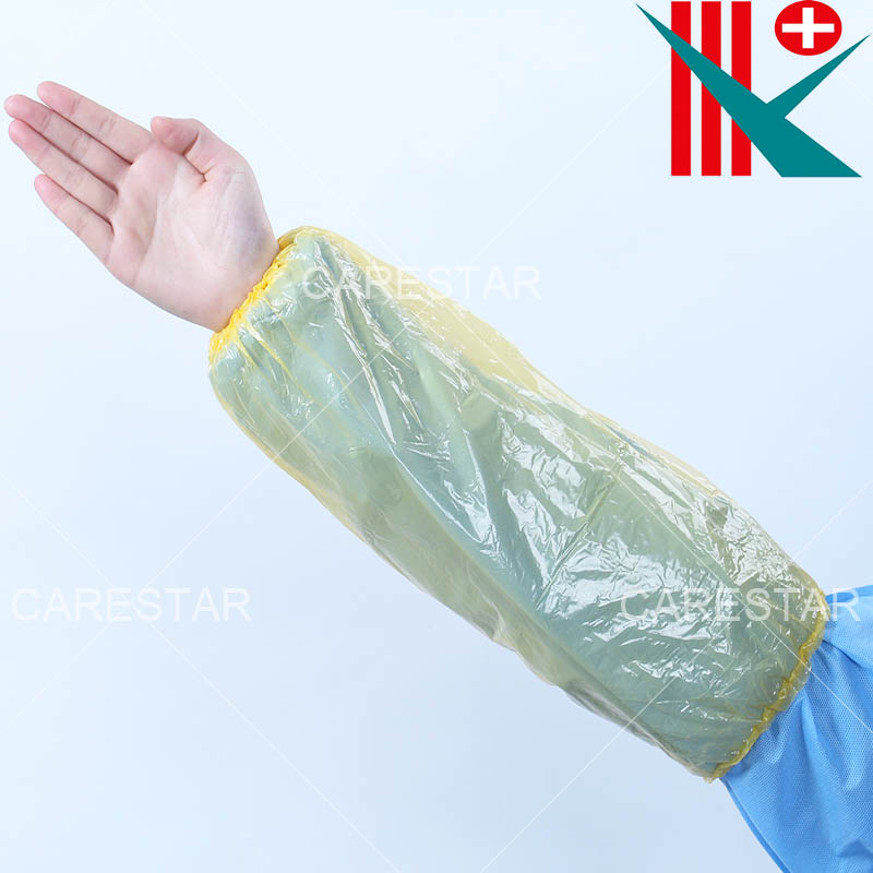 Disposable PE Sleeve Cover, Made by Hand