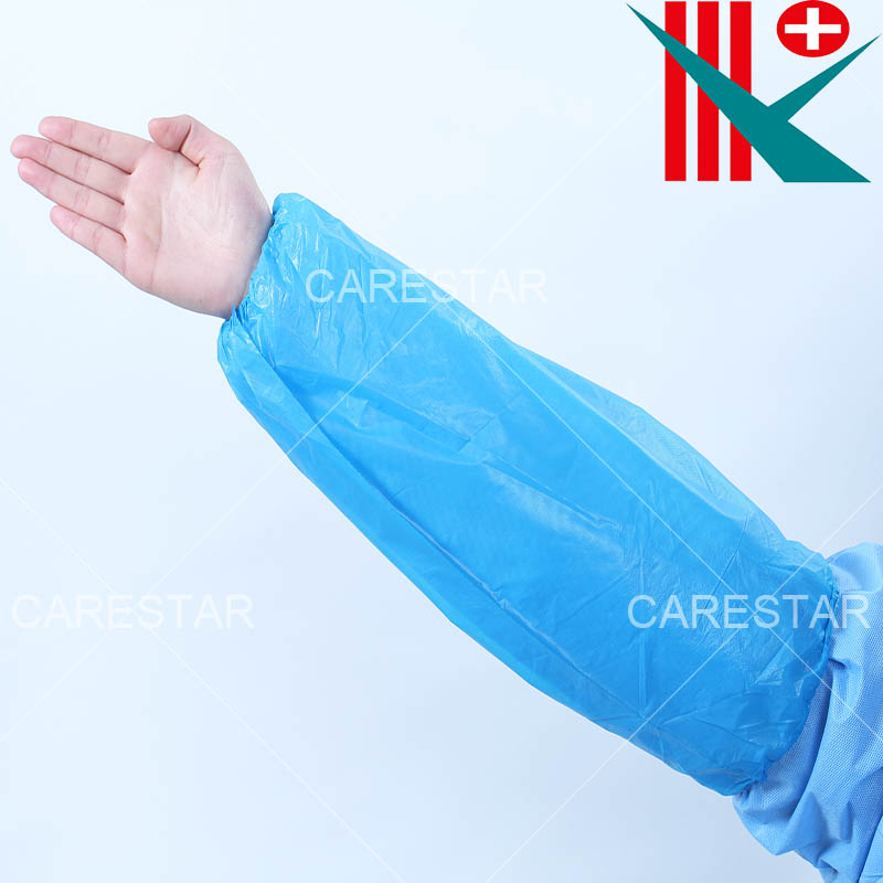 Disposable CPE Sleeve Cover, Made by Machine