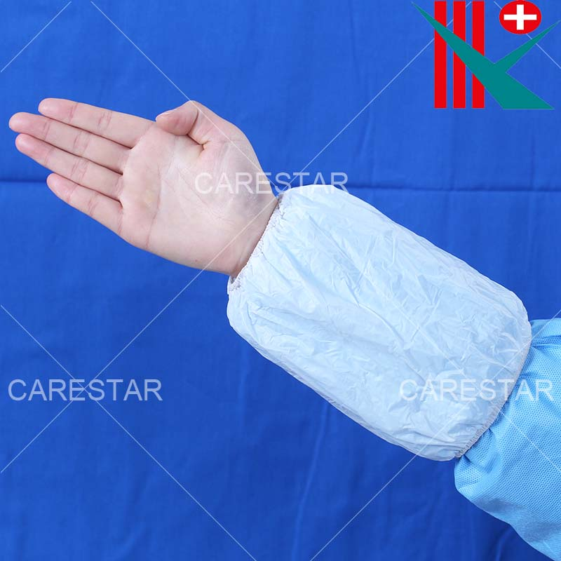 Disposable PP+CPE Sleeve Cover