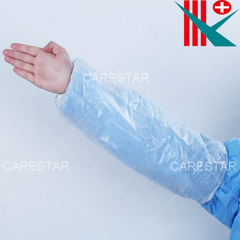 Disposable PE Coated PP Sleeve Cover